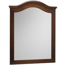 "30"" x 38"" Marcello Style Wood Framed Mirror"