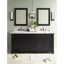 "Torino 73"" Double Bathroom Vanity Set"