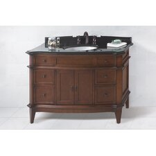 "Traditional Solerno 48"" Standard Bathroom Vanity Set"