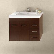 "Bella 32"" Single Wall Mount Bathroom Vanity Set"