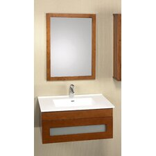 "Modular Rebecca 31"" Wall Mount Bathroom Vanity Set"