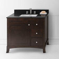 "Hampton 36"" Wood Vanity Set"