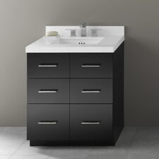 "Lassen 31"" Single Bathroom Vanity Set"