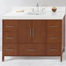 "Contempo Juno 50"" Standard Bathroom Vanity Set"