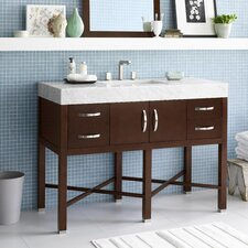 "Haley 48"" Wood Vanity Set"