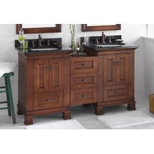 "Venice 52"" Double Bathroom Vanity Set"