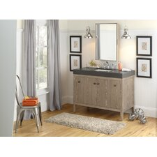 "Sophie 48"" Wood Cabinet Vanity Base"