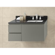 "Vanessa 36"" Wall Mount Cabinet Vanity Base"