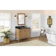"Sophie 36"" Wood Cabinet Vanity Set"