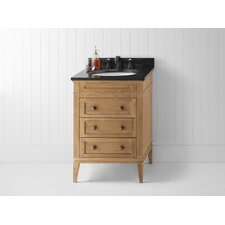 "Laurel 24"" Wood Cabinet Vanity Set"