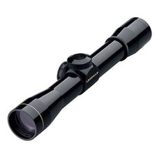 FX I Rimfire Scope 4x28mm Fine Duplex Reticle in Matte Black