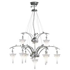 Goccia Ten Light Chandelier
