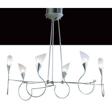 Sibilla Six Light Chandelier