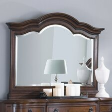 Mount Vintage Panel Mirror in Amber Pine