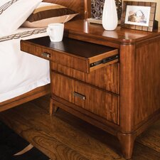 <strong>Wynwood Furniture</strong> Cypress Pointe 3 Drawer Nightstand