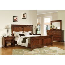 <strong>Wynwood Furniture</strong> Breton Square Panel Bedroom Collection