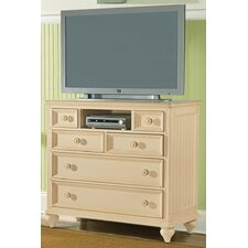 Hadley Pointe 6 Drawer Media Chest