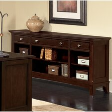 Kennett Square Console Bookcase in Dark Chocolate