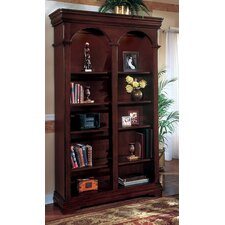 Rue de Lyon Double Bookcase in Cognac Cherry