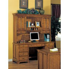 <strong>Wynwood Furniture</strong> Halton Hills Credenza with Hutch