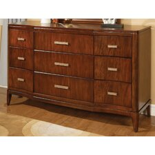 <strong>Wynwood Furniture</strong> Cypress Pointe 9 Drawer Dresser