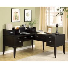 Palisade L-Shape Desk Office Suite