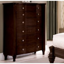 <strong>Wynwood Furniture</strong> Sutton Place 6 Drawer Chest
