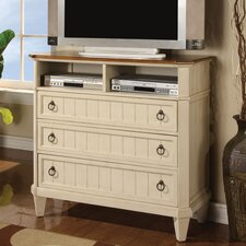<strong>Wynwood Furniture</strong> Garden Walk 3 Drawer Media Chest