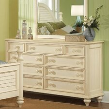 Hadley Pointe 9 Drawer Dresser