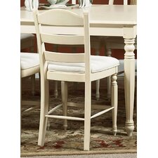 Hadley Pointe Counter Stool in Antique Parchment