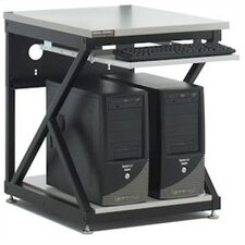 "24"" Performance LAN Station Workbench with Full Bottom Shelf / No Upper Shelving"