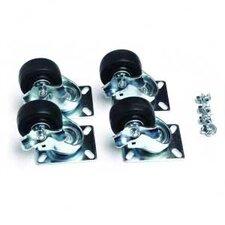 Portable Rack Locking Caster Kit