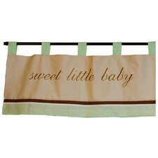 "Baby Bear Tab Top 38"" Curtain Valance"