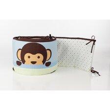 Maddox Monkey Crib Bumper