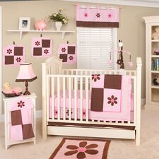 <strong>Pam Grace Creations</strong> Pam's Petals 10 Piece Crib Bedding Set