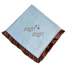 <strong>Pam Grace Creations</strong> Night Night Baby Boy Blanket