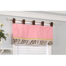 Jolly Molly Monkey Cotton Blend Window Valance
