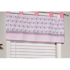 "Sassy Safari 39"" Curtain Valance"