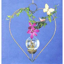 <strong>The Brass Butterfly</strong> Hanging Heart Rooter
