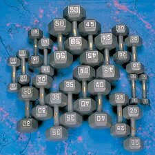 <strong>Yukon Fitness</strong> Hex Dumbbell Set