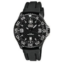 Trekker Watch with Black PVD Case, Textured Dial and Black Rubber