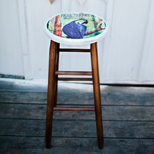 "Coastal 24"" Counter Stool"