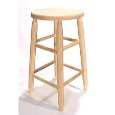 "30""Round Top Backless Barstool"