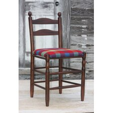 "<strong>Dixie Seating Company</strong> Woolrich Blanket Furniture Ladderback 24"" Bar Stool"