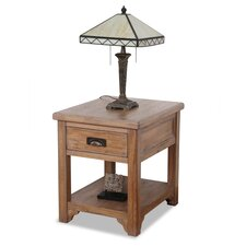 Windswept End Table
