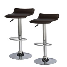 Favorite Finds Adjustable Swivel Stool (Set of 2)