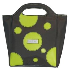 Nylon Insulated Lunch Pod in Bubbles Green
