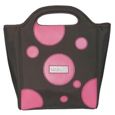 Nylon Insulated Lunch Pod in Bubbles Pink