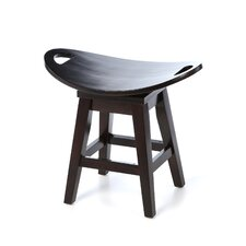 "Thoroughbred 20.38"" Swivel Bar Stool"