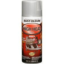 <strong>RustoleumAutomotive</strong> 12 Oz Flat Aluminum High Heat Automotive Spray Paint